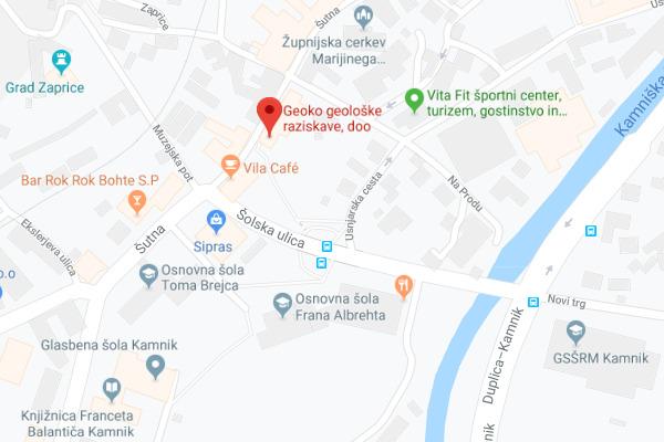 Geoko d.o.o., Šutna 33, Kamnik